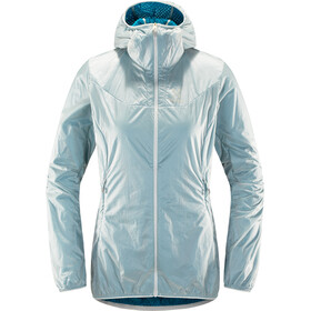 Haglöfs W's Aran Valley Jacket Haze/Mosaic Blue